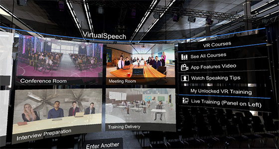 VirtualSpeech - VR App Guide, Tutorials and Scenarios