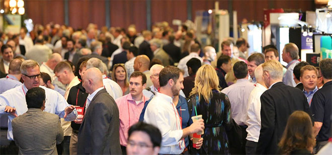 Networking opportunities at a conference