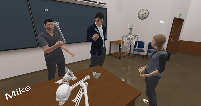 Social VR will be a big part of online education
