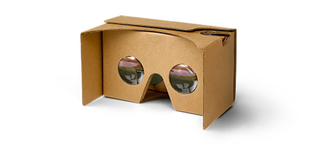 Google Cardboard with push trigger