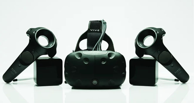 HTC Vive released in 2016