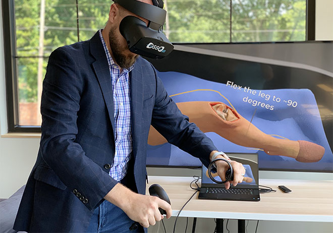 Johnson & Johnson Institute & Osso VR: Enhancing surgical training