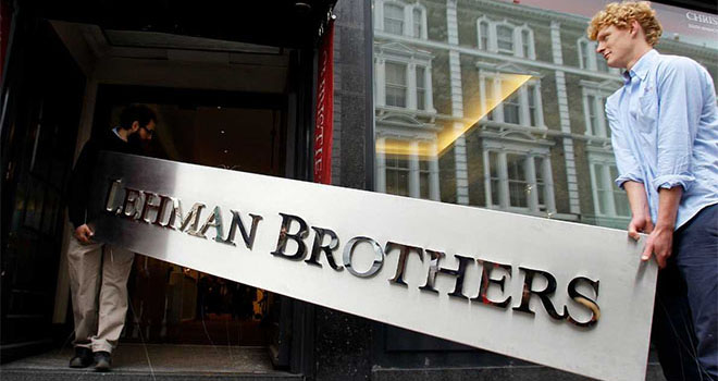 Lehman Brothers story of disaster
