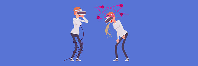 Motion Sickness in VR: Why it happens and how to minimise it