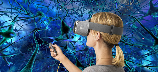 Online education with VR to learn through experience