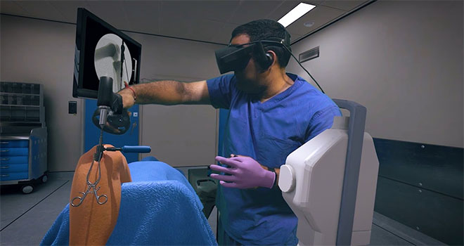 Osso VR provide a surgical training and assessment tool