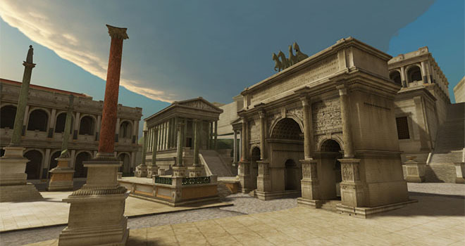 Unimersiv visits Ancient Rome