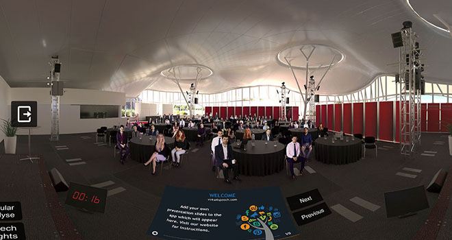VirtualSpeech: presentation skills with Vodafone