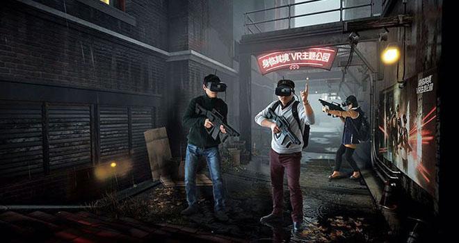 VR theme park in China from SLQJ