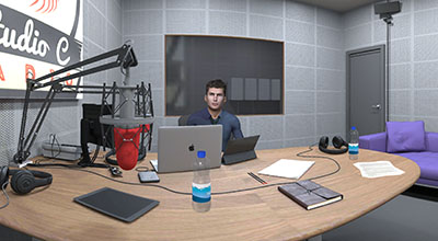 Radio interview training