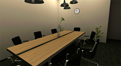 VR small meeting room