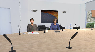 Sales Pitch and Presentation in VR