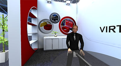 Trade Show or Exhibition Event in VR
