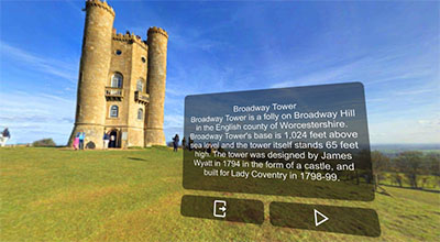 Experience English culture and landmarks in VR