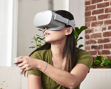 Image result for oculus go standalone virtual reality headset