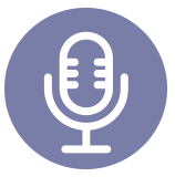 Record your voice icon