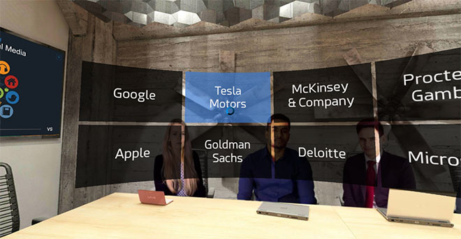 Tesla interview questions in virtual reality (VR)