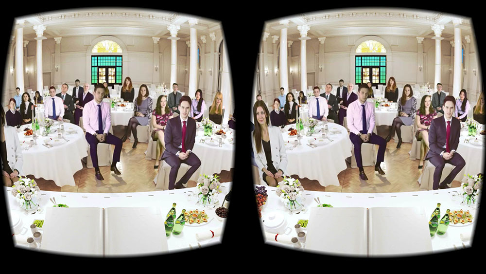 VirtualSpeech wedding and formal speech room in VR